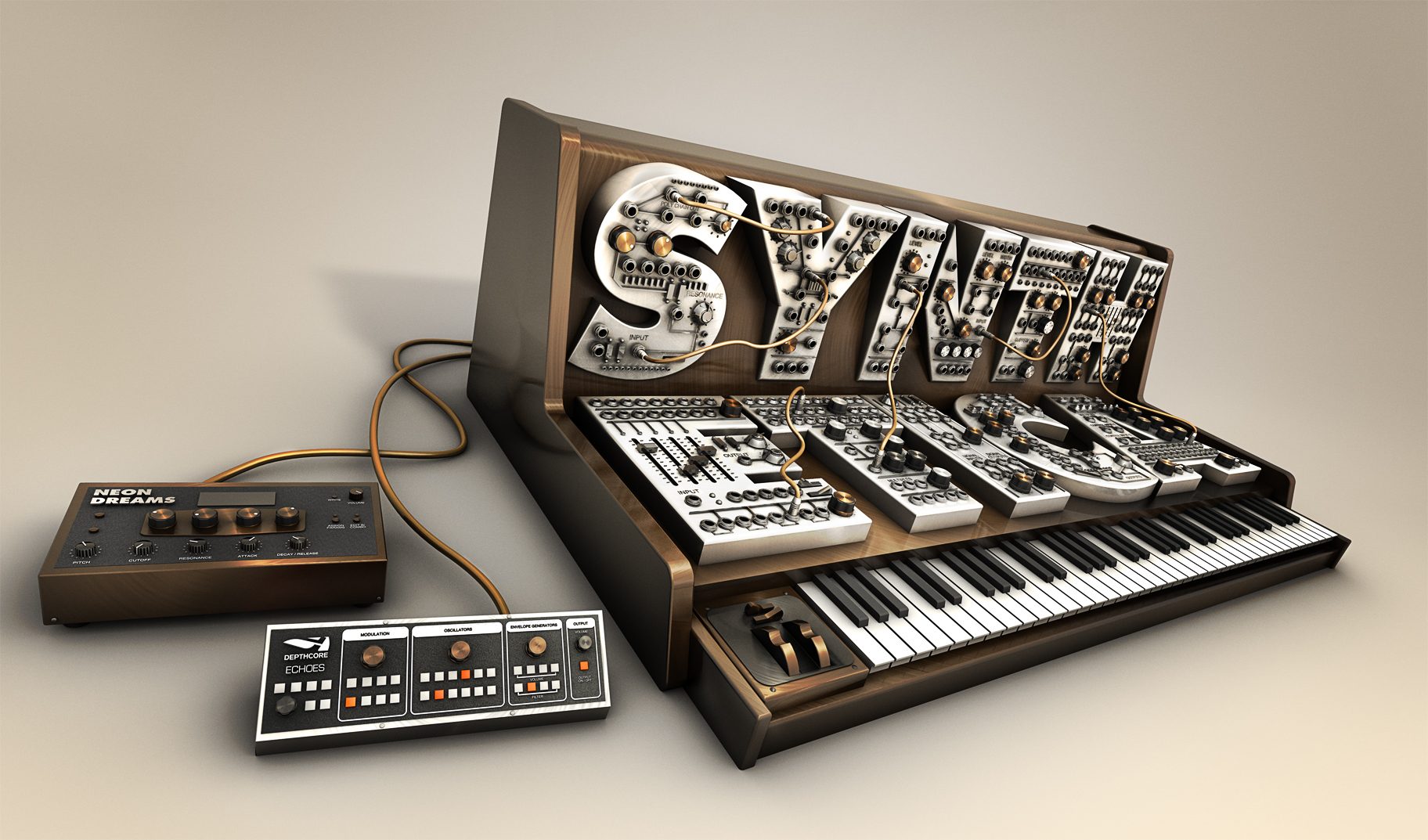 Synthetica by Chris Haines + 