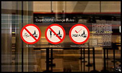 dC Lounge Rules and Regulations