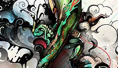 Artisitc Chameleon