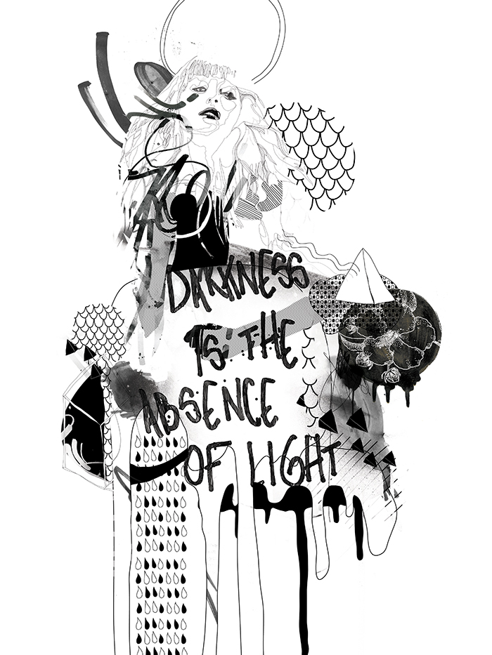 Darkness is the Absence of Light by Raphael Vicenzi +