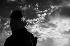 sky portrait